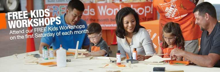 Your Child Can Make Fun Crafts At Home Depot With Help Of A Parent