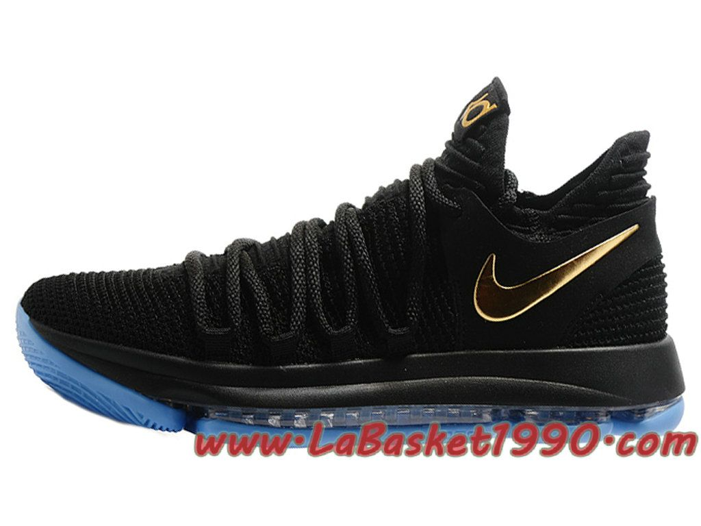 KD 10 Homme Nike Noir Chaussures Nike Baskets Pas Cher