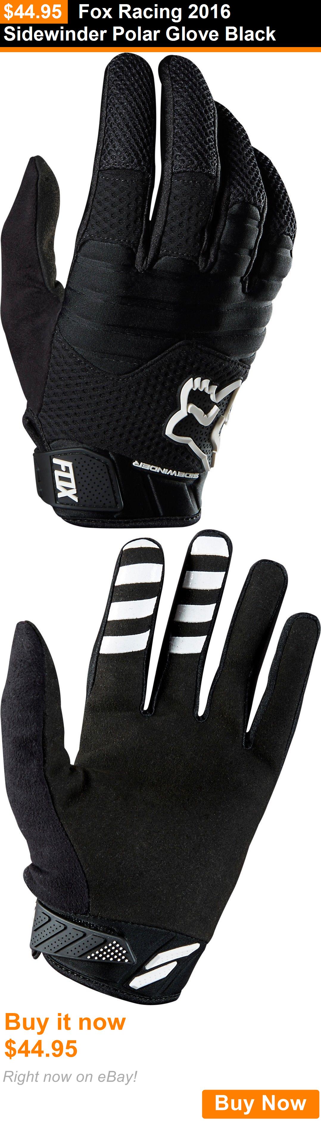 Gloves fox racing sidewinder polar glove black buy it