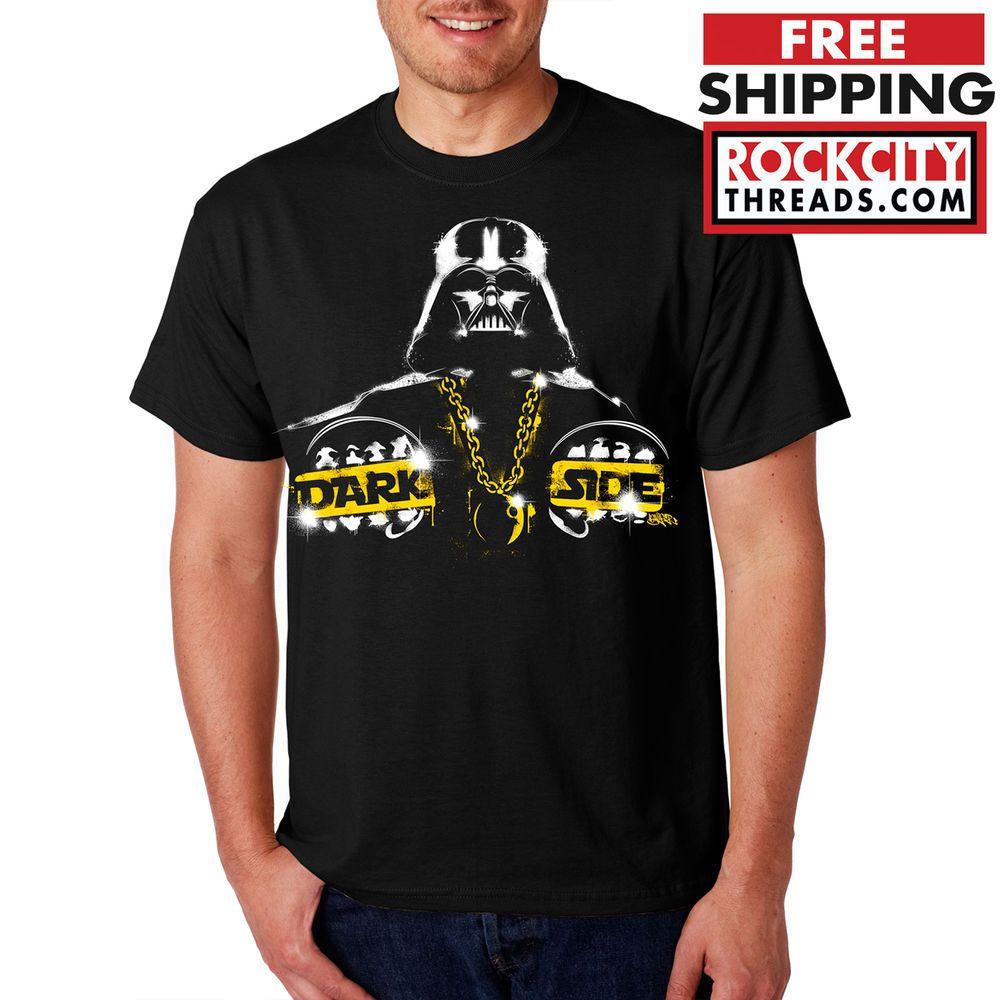 Darth Vader The Dark Side T Shirt Empire Star Wars Shirt Tshirt T Boba Rebels Ebay Star Wars Shirts T Shirt Mens Tops [ 1000 x 1000 Pixel ]