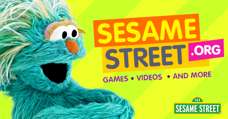 Home Sesame Street Learning websites for kids