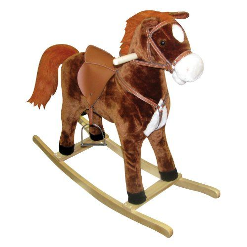 Charm Company Hercules Horse Rocker with Cowboy Sound and Moving ...