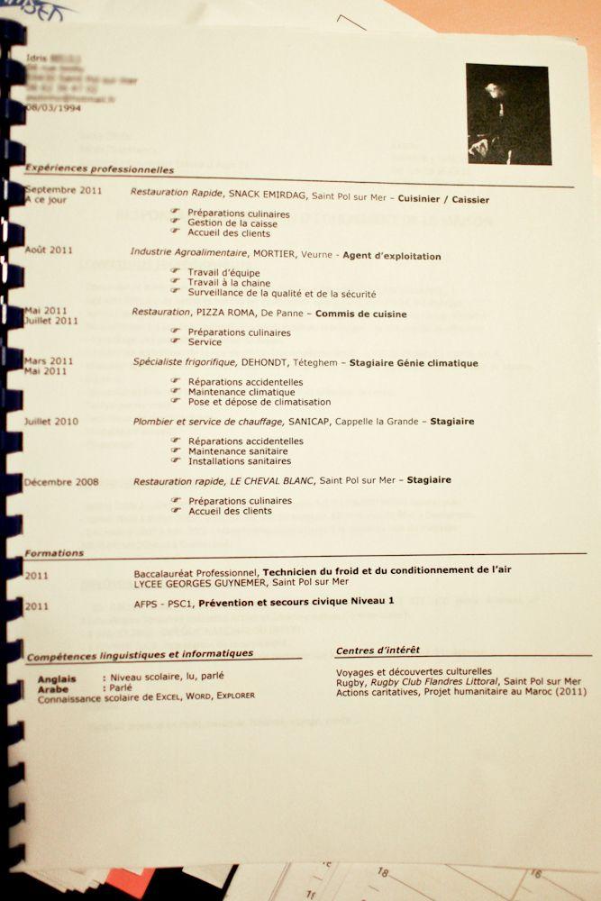 cv frigoriste exemple Modele Cv Frigoriste Cv Anonyme Exemple De Cv Electricien Batiment  cv frigoriste exemple