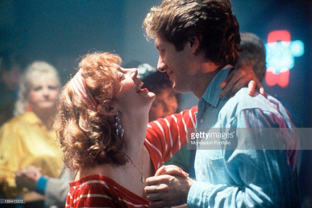 American actors James Spader and Susan Sarandon (Susan