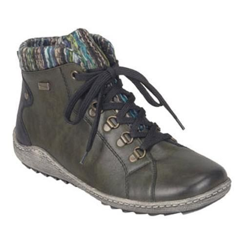 outlet store a6d8f 42eb2 Women's Remonte Liv R1473 Ankle Boot Leaf/Black/Blau-Multi ...