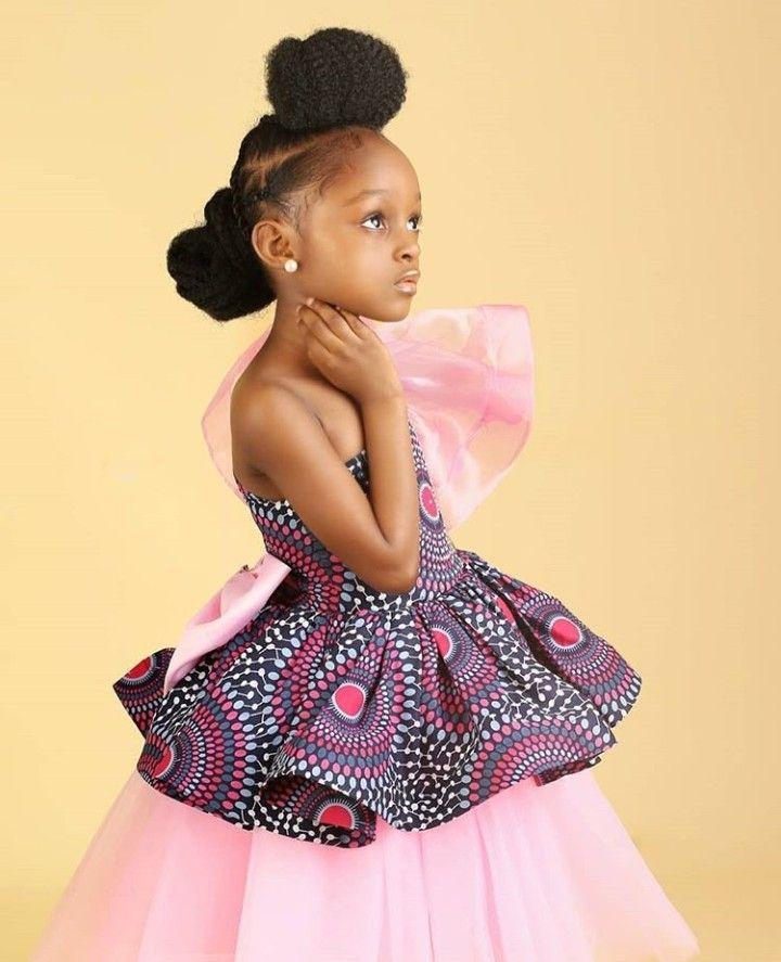 Lovely Wedding Dresses For Kids Ankara Styles For Kids