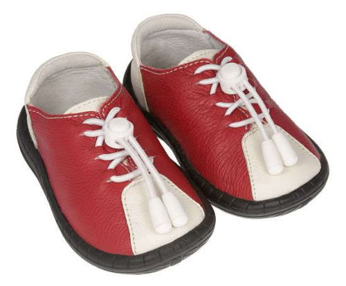 Red Bowlers By Pedoodles Next Step Shoes.