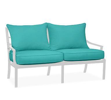 Modern Sofa Faraday Riviera Sofa Replacement Cushion Set Sunbrella R Aruba