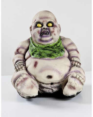 Halloween Zombie Baby Prop.Zombie Baby Buddha How Zen Like Zombies Are Us Spirit