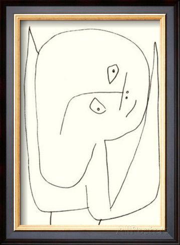 Paul Klee Engel Voller Hoffnung
