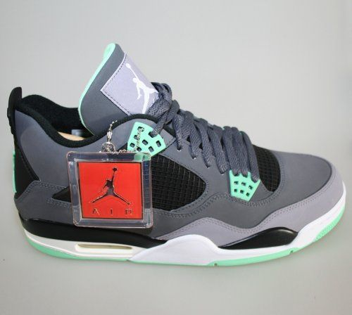 sports shoes 9fd3b c7785 Air Jordan 4 Retro - Green Glow