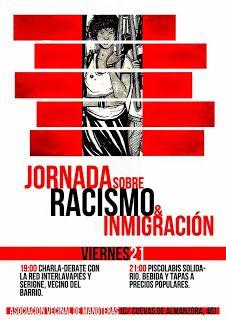 Madrid: Charlas-Debate 'Racismo & Inmigración' y 'Cárceles Infantiles durante el Franquismo' 21 y 22 de nov. 2014 http://laoropendolasostenible.blogspot.com/2014/11/madrid-charlas-debate-racismo.html#.VG3kMnhsT0E.twitter