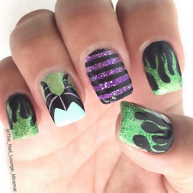 Pin It! | Disney nail designs, Disney nails and Flipping