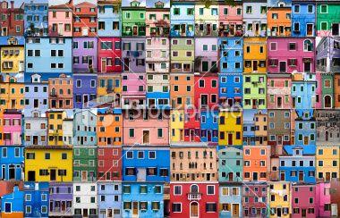 House and Home in Colour - XXXLarge Foto sin derechos de autor
