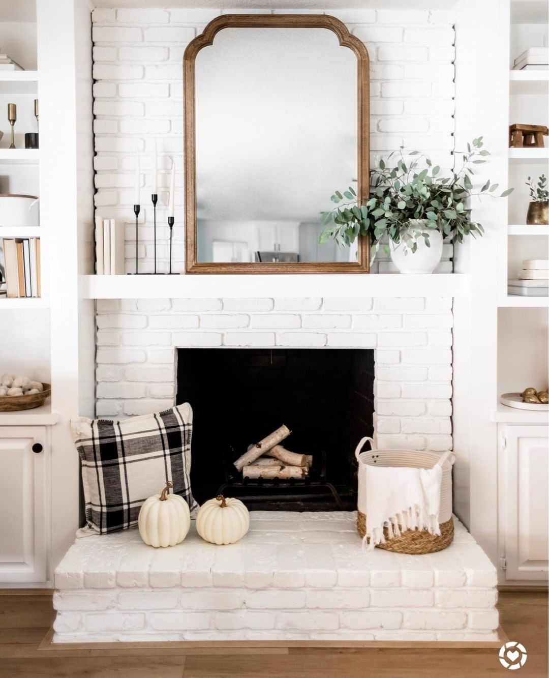 Hey Friends Katie From Halfway Wholeistic Here I M Excited To Be Hangin With You Today And Transitional Home Decor Transitional Fireplaces Fireplace Decor