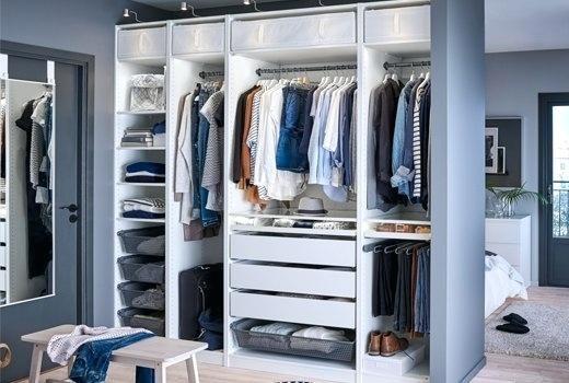 Small Walk In Closet Ideas And Also Organizer Design To Influence You. Diy  Walk In Closet Ideas, Walk In Closet Dimensions, Closet Organization Ideas.