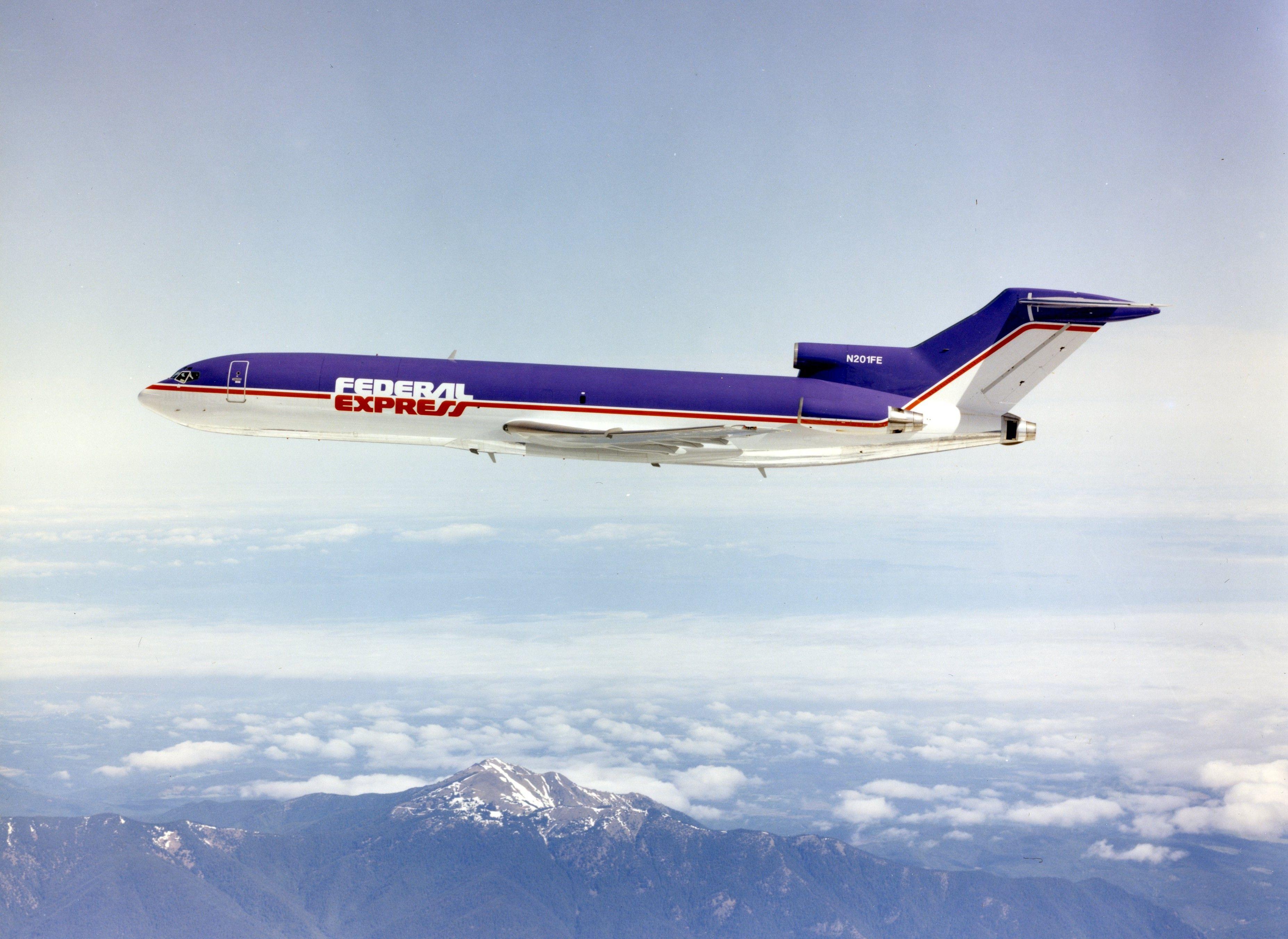 Fedex B727 Retirement Boeing 727 Boeing Cargo Aircraft