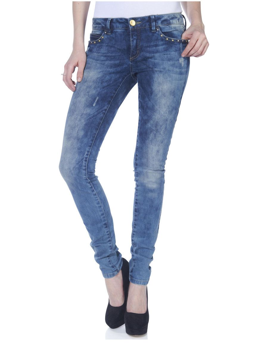 15080690 SK low coral silv/gold jeans