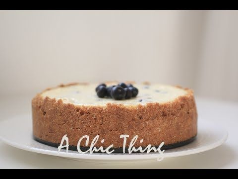 Blueberry Cheesecake تشيز كيك التوت Cheesecake Baking Blueberry Cheesecake