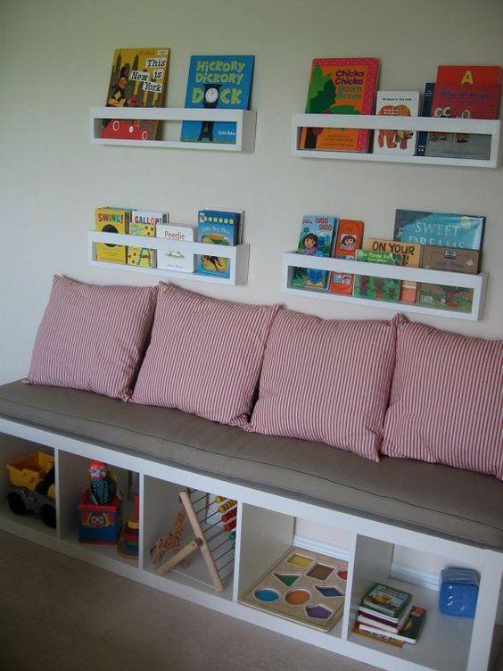 Ikea KALLAX Custom Cushion Playroom , Nursery, Organization Bench Seat, Playroom cushion, bench cushion, mudroom – 2019