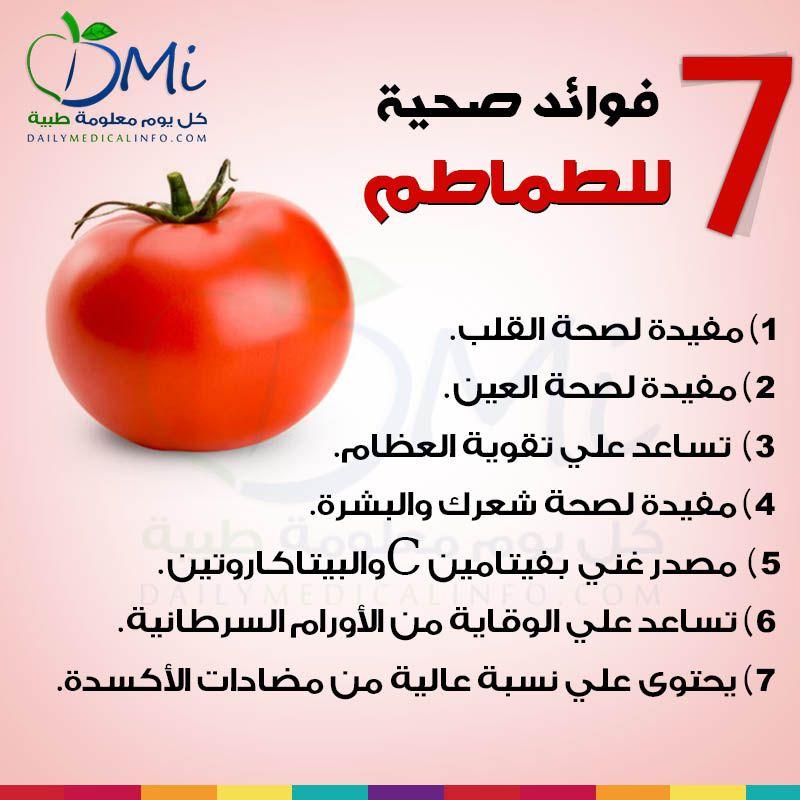 تعرفوا على 7 فوائد صحية وهامة للطماطم Health Facts Food Health Food Health And Nutrition