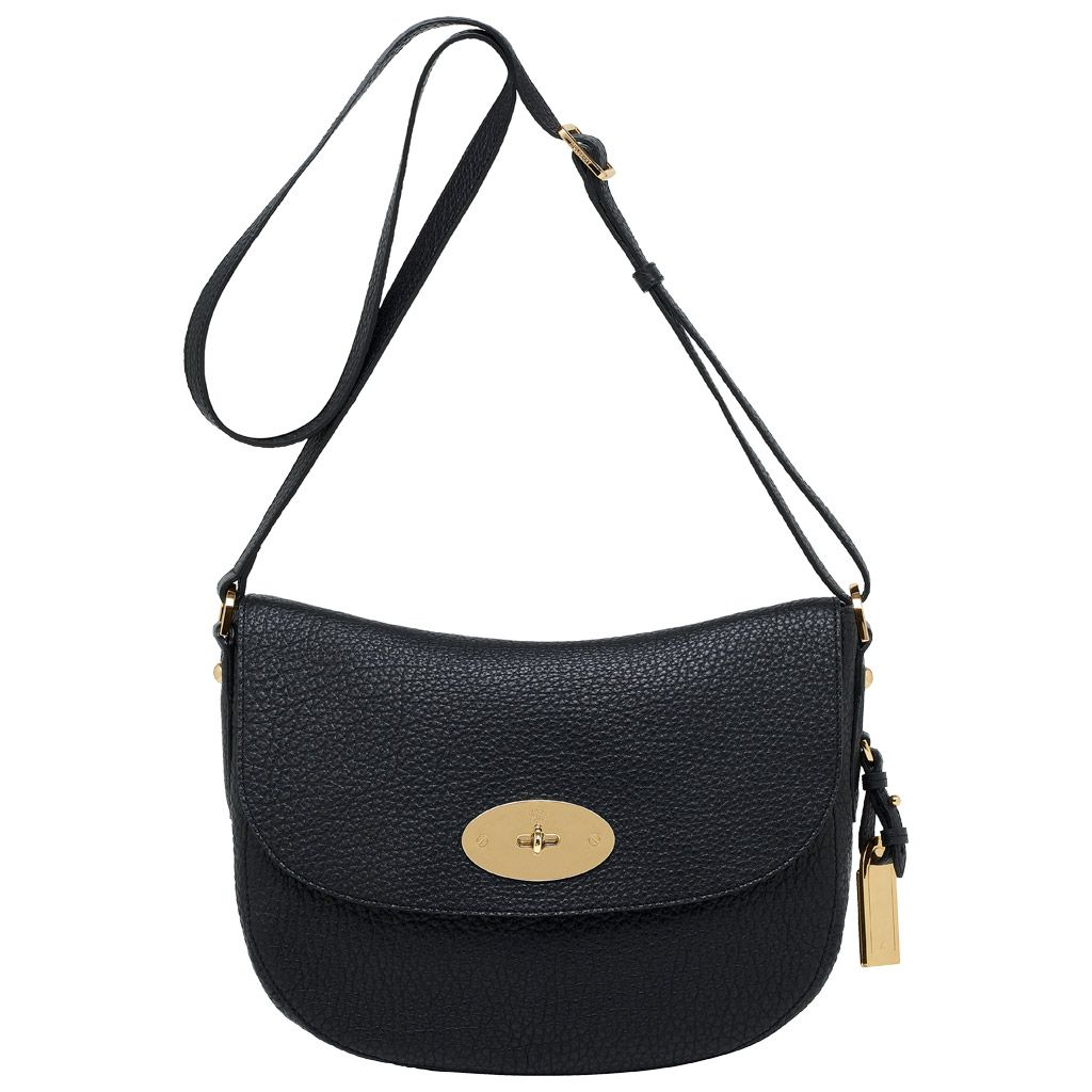 Mulberry - Postmans Lock Shoulder in Black Soft Large Grain Cross Body 3ec6a6e9a89ed