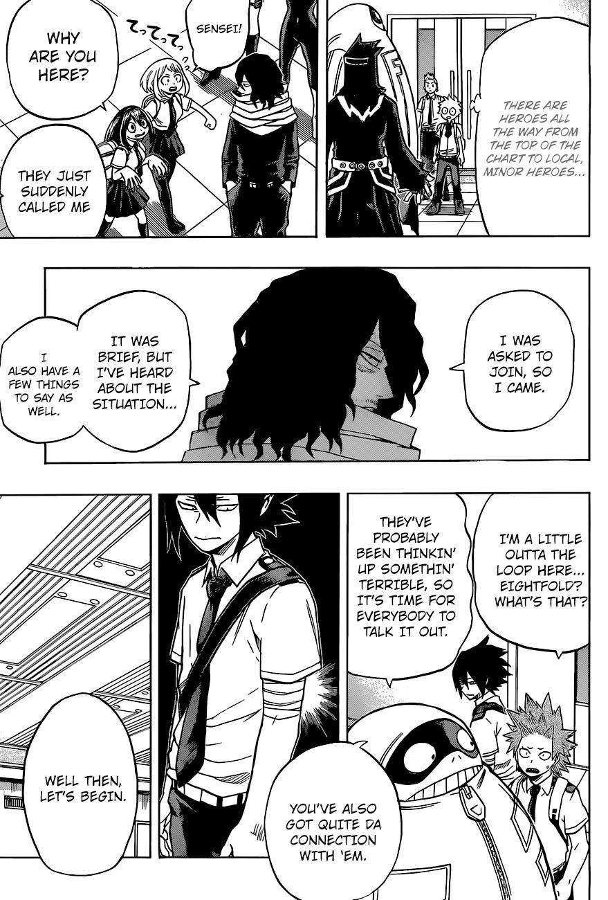 Boku No Hero Academia Chapter 135