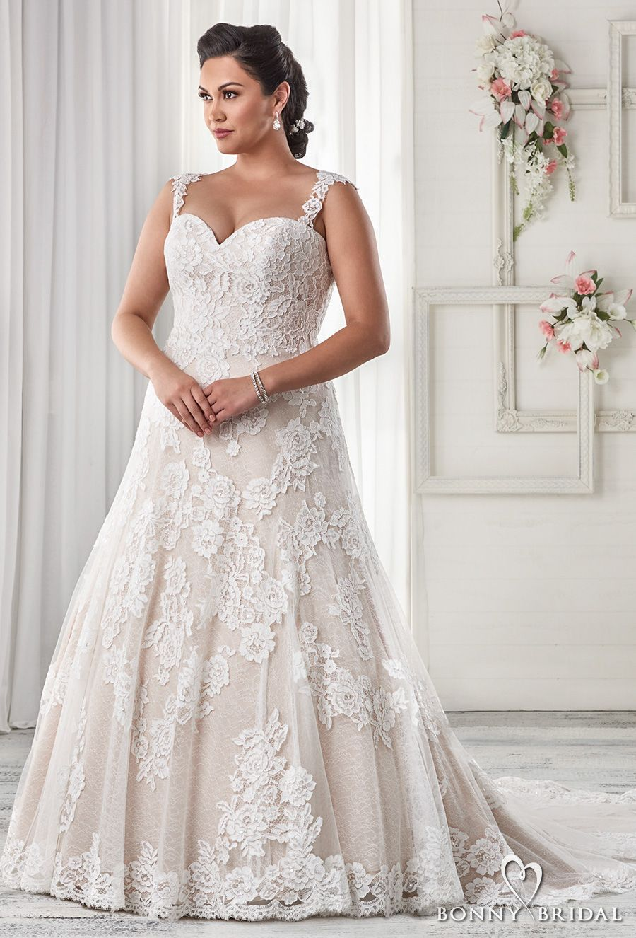 Bonny Bridal Wedding Dresses Unforgettable Styles For Every Bride Wedding Inspirasi Wedding Dress Necklines Wedding Dresses Beaded Wedding Dresses Lace