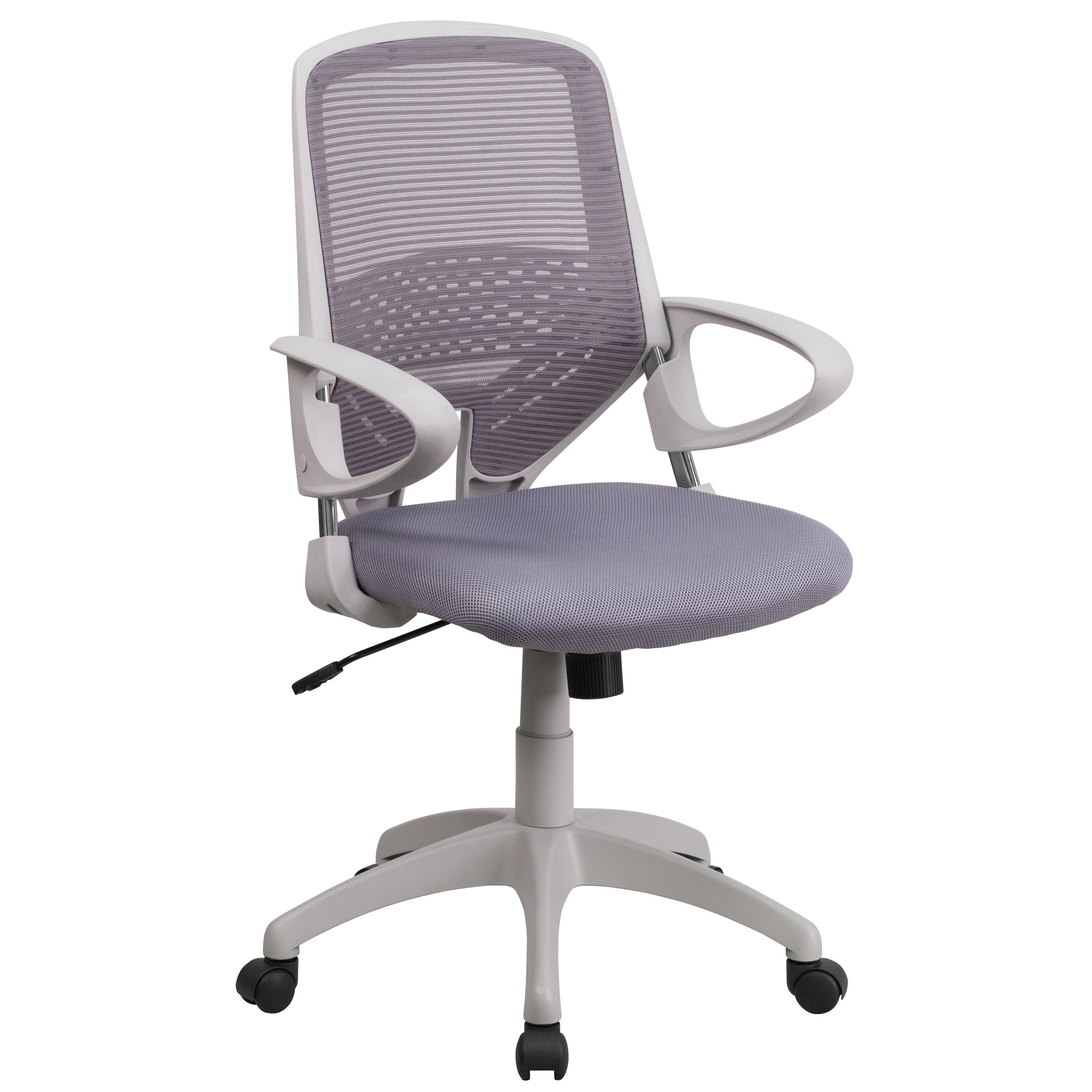 flash furniture mid back mesh office chair green mesh office