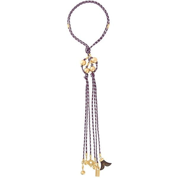 Chloé Janis Wooden Pendant Necklace MD35Lb