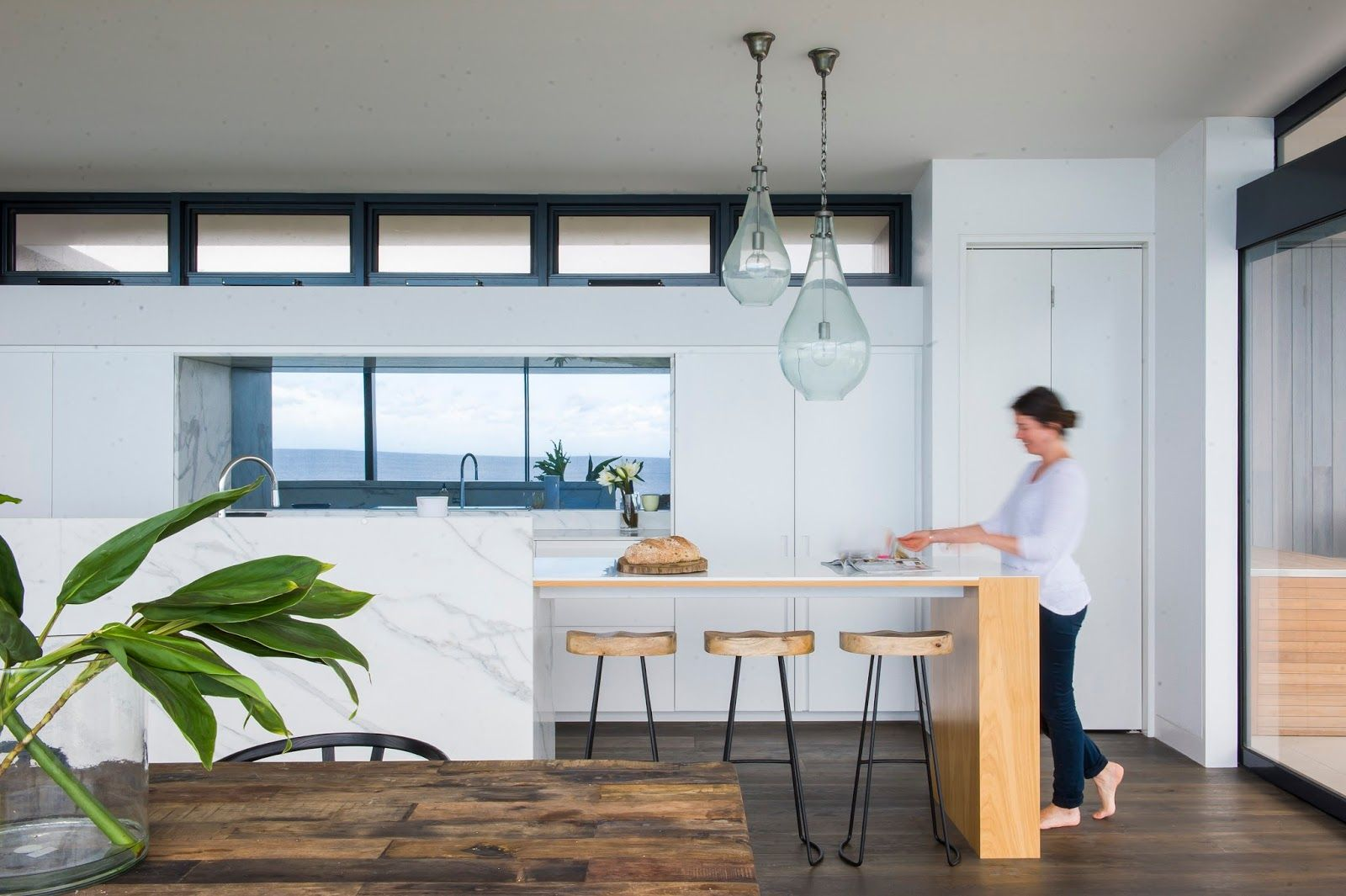 Minosa Design: Melbourne Kitchen Design - A famous view, house and ...