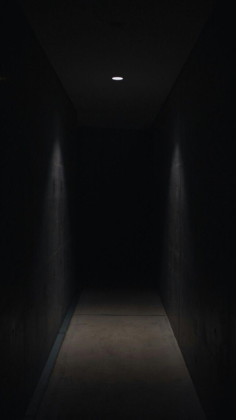 Creepy dark hallway. Photo Photography Creepy Scary