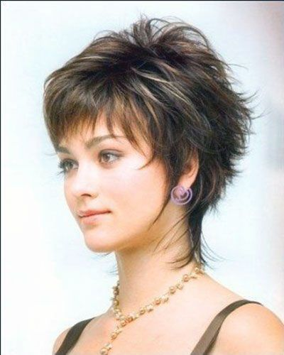 Wispy Short Haircut Google Search Short Hair With Layers Short Sassy Haircuts Short Shag Hairstyles
