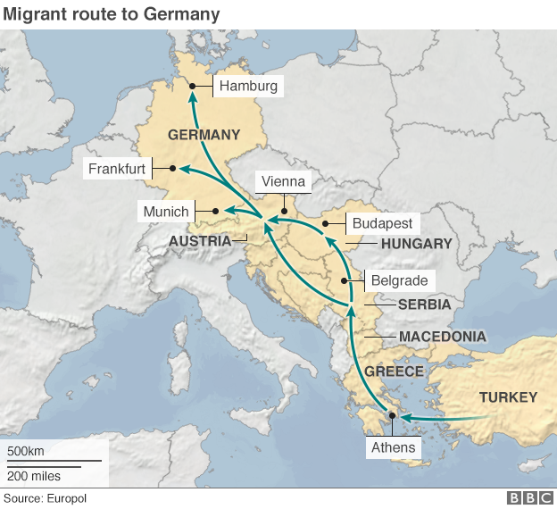 Migrant crisis a german problem hungarys leader says the migrant crisis facing europe is a german problem since germany gumiabroncs Image collections