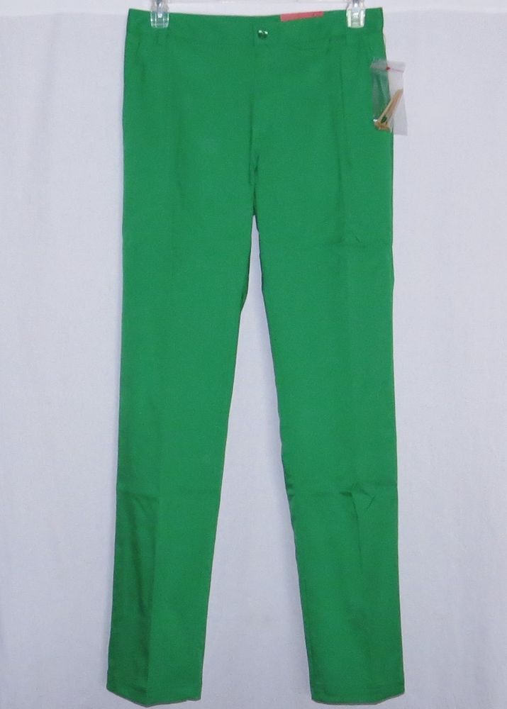 30X34 Mens Golf Pants FILA w/ Tees Green NEW NWT Sport Putter Pant Slacks 30 34 #Fila #GolfPants #Putter Putter Golf pants that have 2 front and 2 rear pockets with pencil and tee slots and a scorecard pocket... Tees included #GreenPants