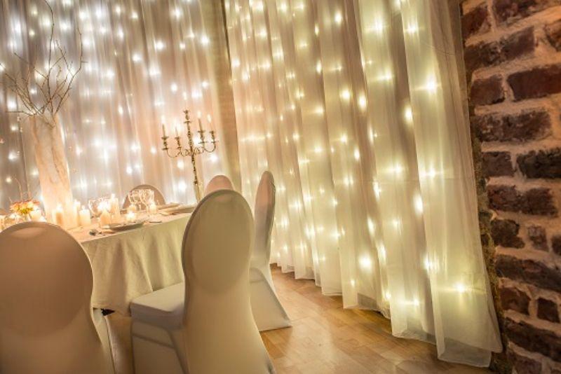 Rideaux Led De Ddaydeco Winter Wonderland Lounge