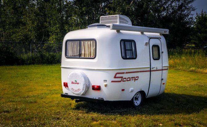 Scamp 13 Fiberglass Lightweight Travel Trailer Camper Standard