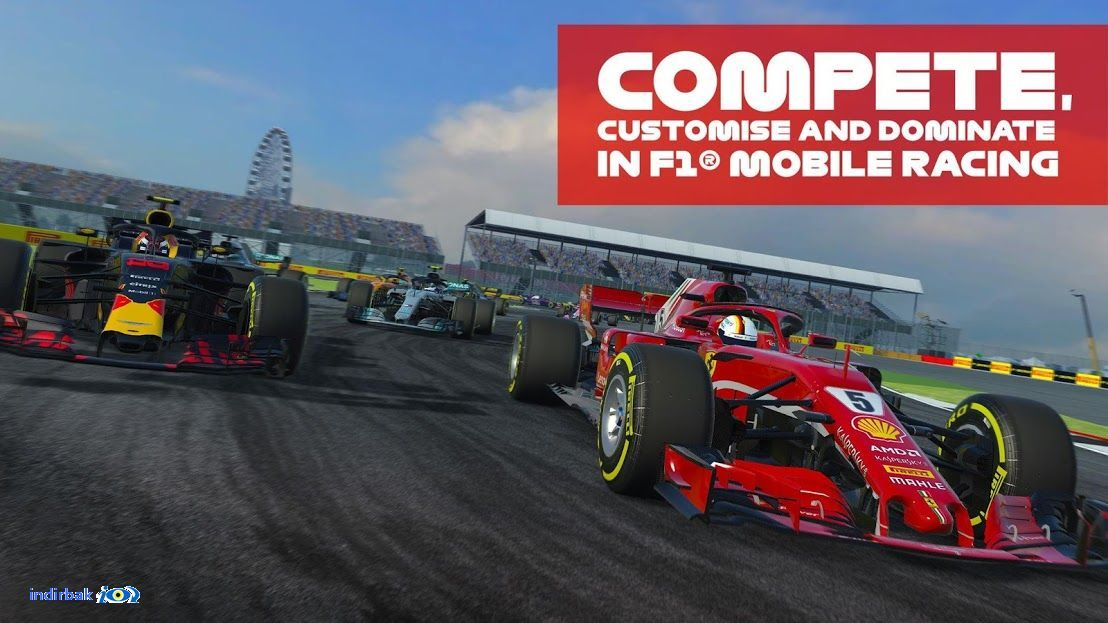 F1MobileRacing 2.0.26 formula 1 resmi yarış oyunu F1