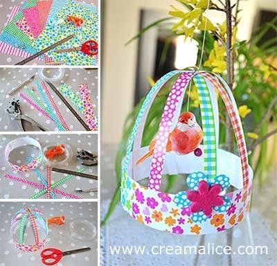 Diy d co cage oiseau papier diy paper bird cage decor for Deco cage a oiseau