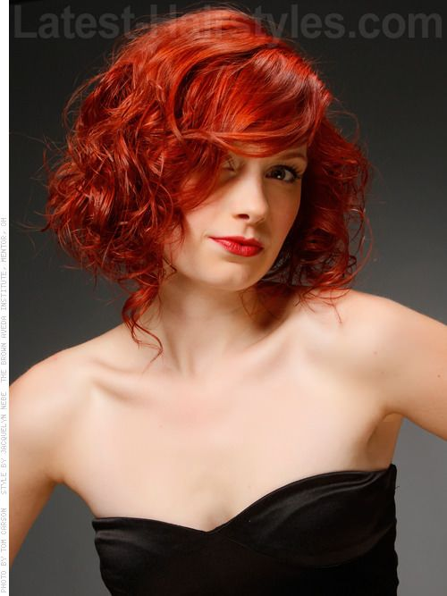Superb 1000 Images About Bob Hairstyles On Pinterest Curly Bob Bobs Hairstyles For Women Draintrainus