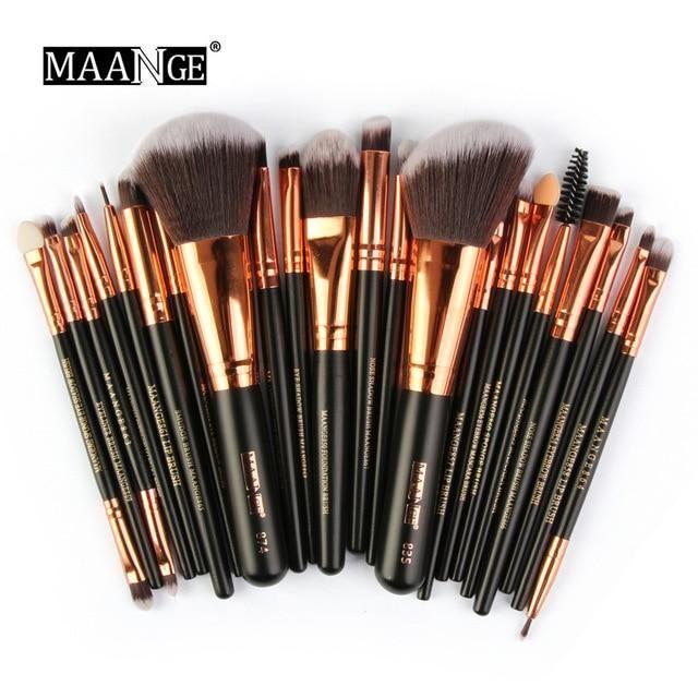 Photo of Professional 22 Pcs Beauty Makeup Brushes Set – B / China
