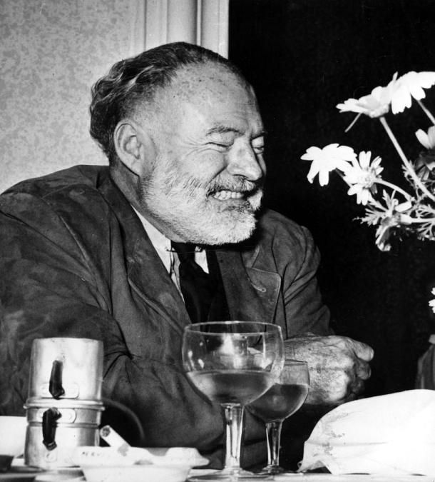 """We thought of wine as something as healthy and normal as food and also as a great giver of happiness and well being and delight. Drinking wine was not a snobbism nor a sign of sophistication nor a cult; it was as natural as eating and to me as necessary."" - Hemingway, A Moveable Feast"