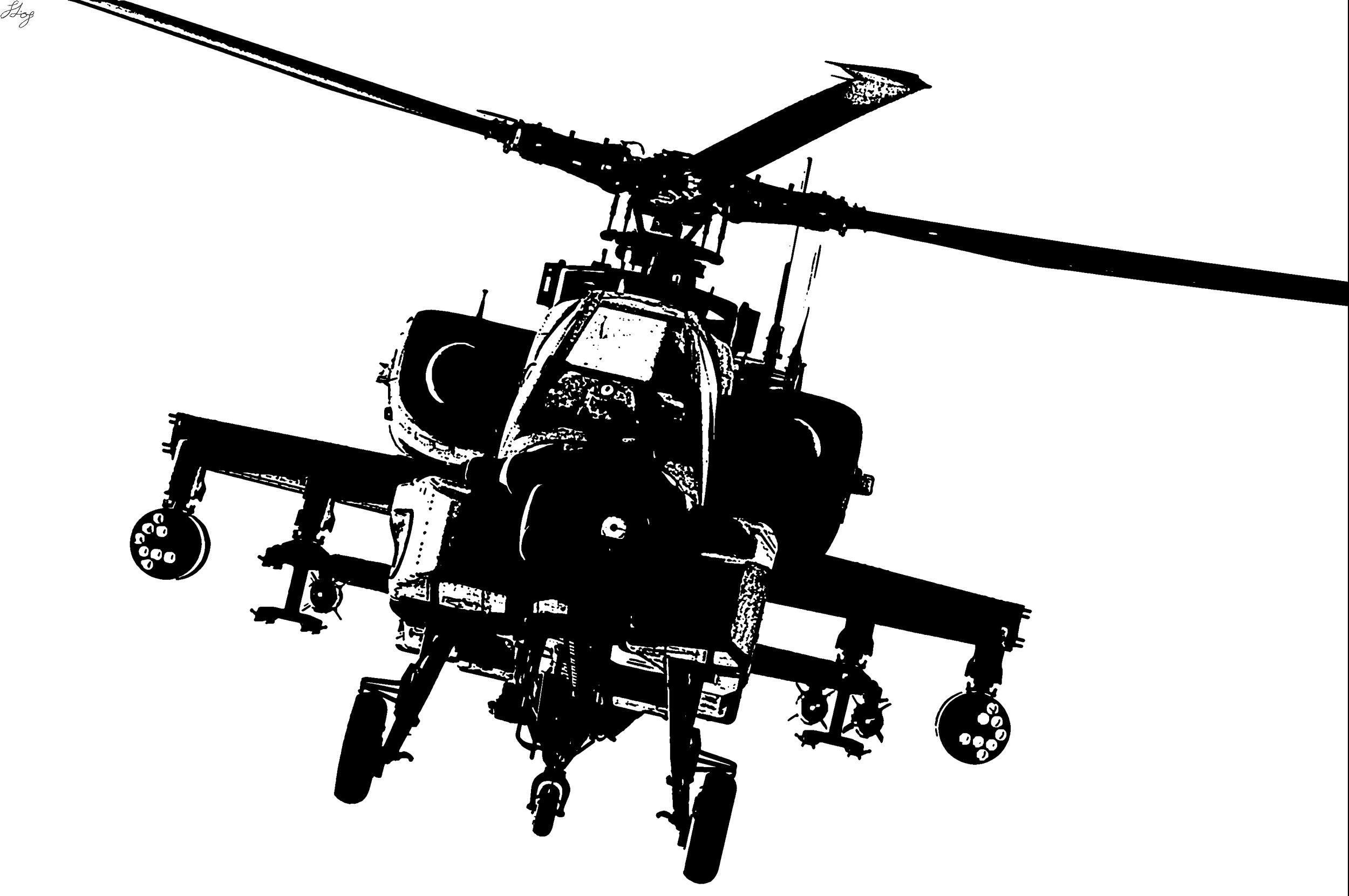Images For Gt Apache Helicopter Silhouette Beachwood
