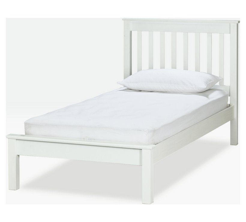 Buy Argos Home Aspley Single Bed Frame White Kids Beds Argos White Kids Bed Single Bed Frame Bed Frame