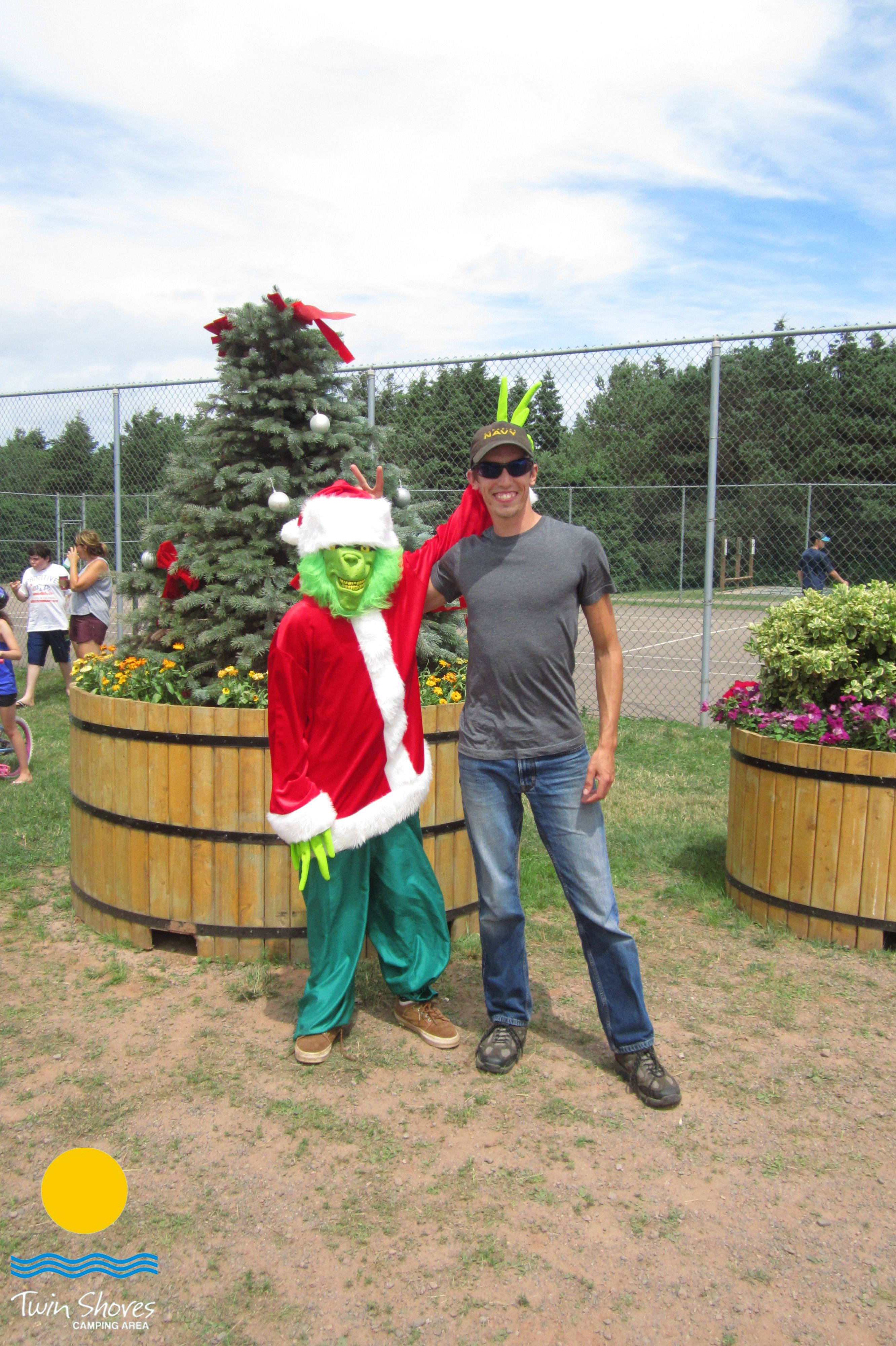 Christmas In July Camping.Christmas In July 2016 With The Grinch Twin Shores