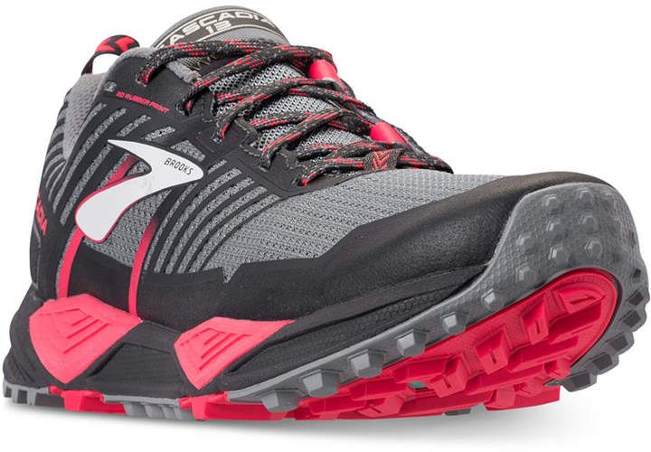 38af2405834b1 Brooks Women s Cascadia 13 Trail Running Sneakers from Finish Line ...
