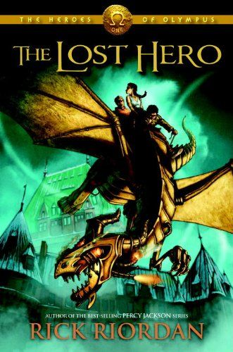 The Lost Hero (The Heroes of Olympus, #1) | The lost hero, Heroes book,  Heroes of olympus