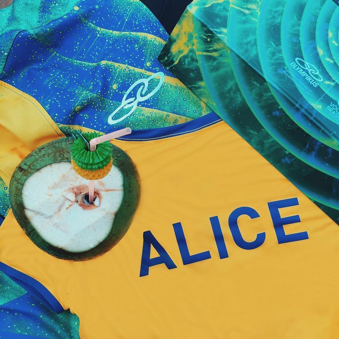 Presente mais lindo @olympikus  orgulho do nosso Vôlei! Hoje vou assim claro  #fhitsrio