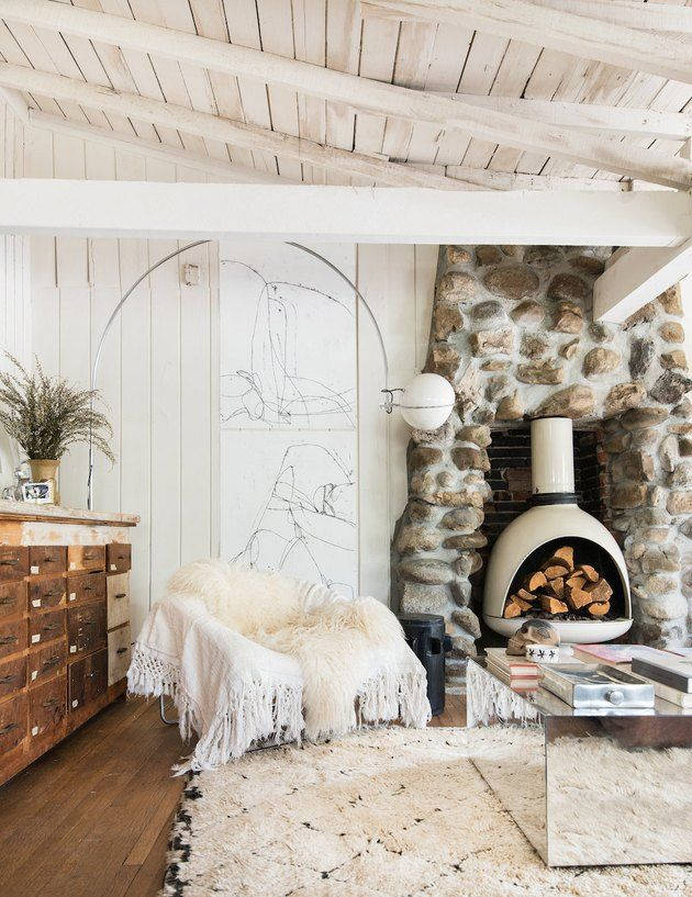 15 Farmhouse Fireplace Ideas That Sizzle | Hunker #leannefordinteriors