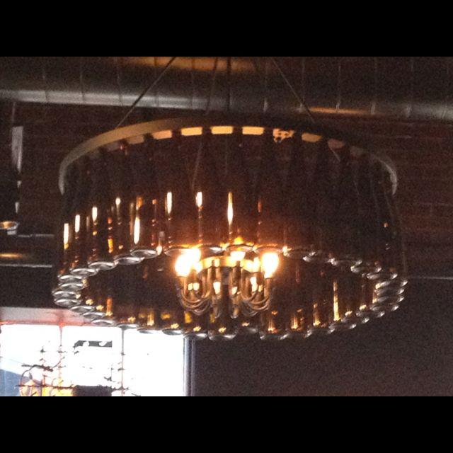 Cool chandelier!
